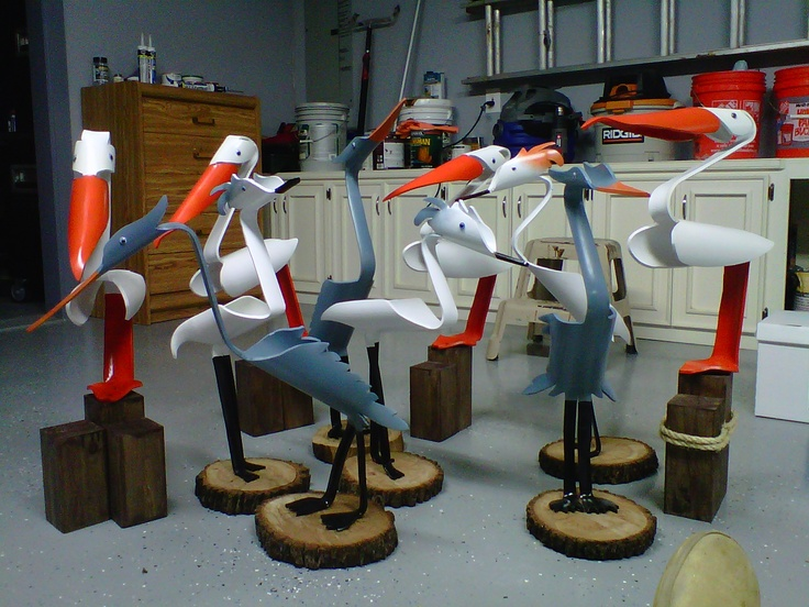 17 best images about pvc yard birds on pinterest for How to make pvc pipe birds