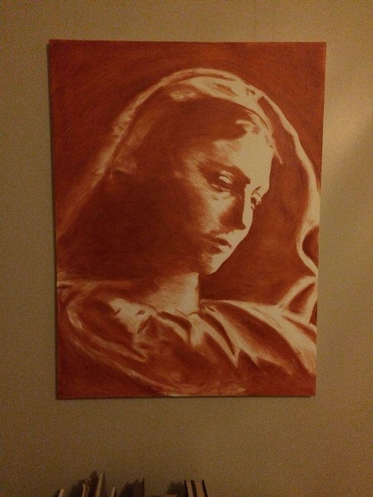 Painting: oil on canvas. Title: Gratia Plenum