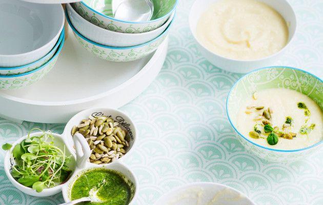 Palsternakka-kukkakaalikeitto / Parsnip and cauliflower soup / Kotiliesi.fi / Kuva/Photo: Sampo Korhonen/Otavamedia