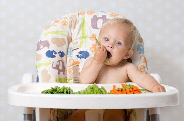 Baby-led weaning (sumber gambar: http://www.bumpsnbaby.com/wp-content/uploads/2014/11/make-fussy-eater-eat.jpeg) Makanan pendamping ASI (MP-ASI) mulai diberikan pada bayi saat berusia 6 bulan karena nutrisiASI yang tidak lagi mencukupi kebutuhan. MP-ASI mulai diberikan dari yang lunak terlebih dahulu kemudian usia 9 bulan mulai diperkenalkan dengan makanan padat yang dapat digenggam, hingga usia 12 bulan dapat diberikan makanan yang sama …