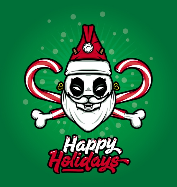 Happy Holidays by Roback , via Behance