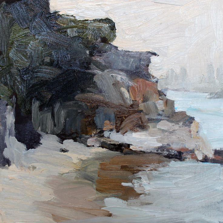 Lady Jane Beach Oil On Canvas