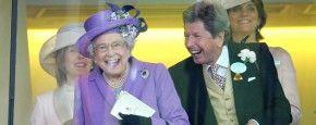Exclusief! Queen Elisabeth Lacht! #QueenElisabeth
