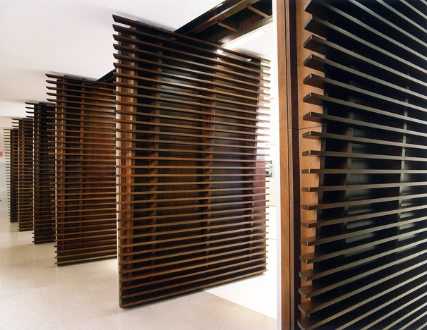 Rotating Slats Kinetic Technology Entry Doors Doors