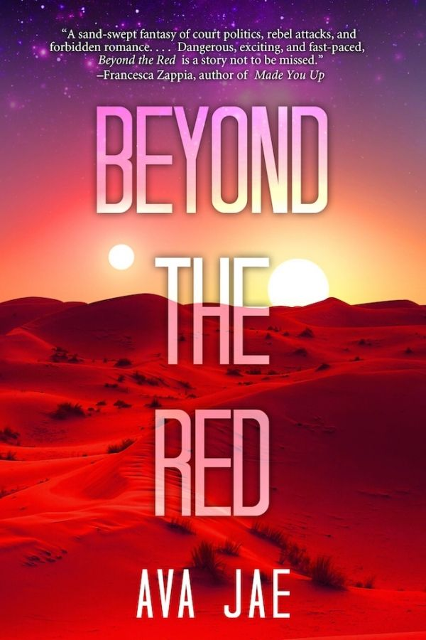 Here it is! Today YABC revealed cover for BEYOND THE RED, and I am so excited! Even better, for the very first time you can enter to win a signed ARC and bookmark! YAY!