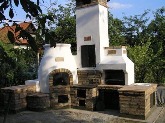 Hungarian outdoor kitchen! Kemence! :-D
