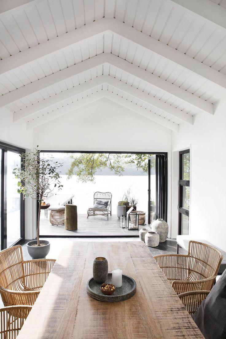 Modern Home Decor Style Interiordesign Beach House Interior Modern Lake House Inspiring Outdoor Spaces