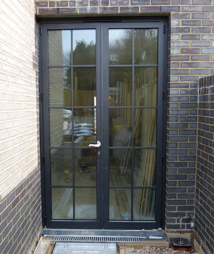 25 best ideas about aluminium french doors on pinterest for External double french doors
