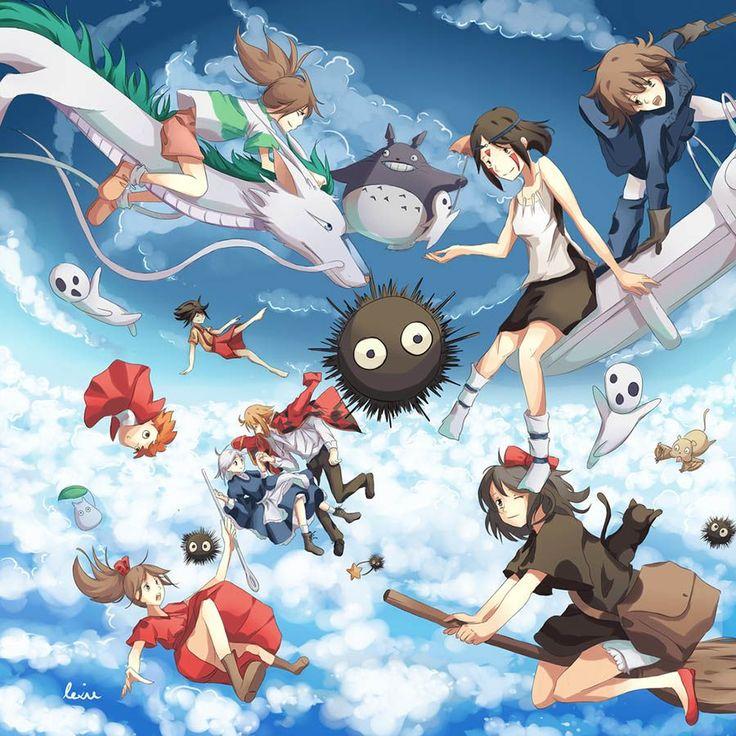 Картинки аниме хаяо миядзаки список