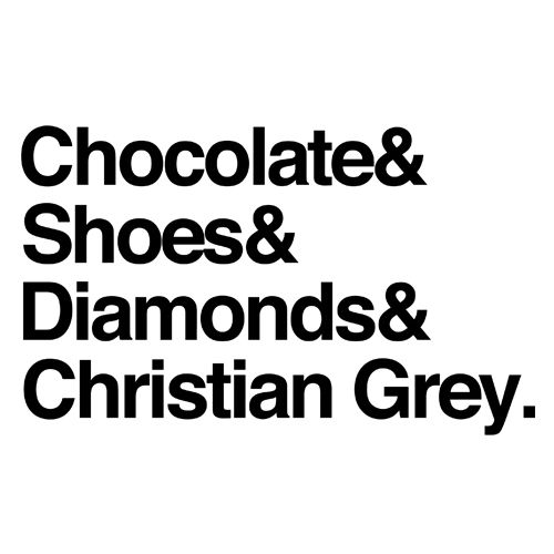 fifty shades of grey - yes please!!