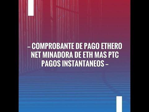 New on my channel: Comprobante de Pago Ethero net Minadora de ETH mas PTC  PAGOS INsTANTANEOS https://youtube.com/watch?v=dlT6GcHNdsQ