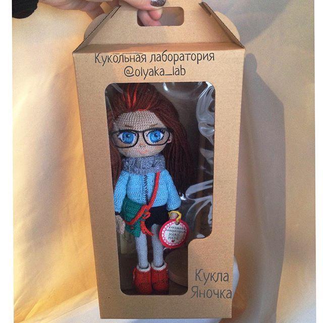 Вот такая у этой куколки упаковка, коробочка!Очень ую�...