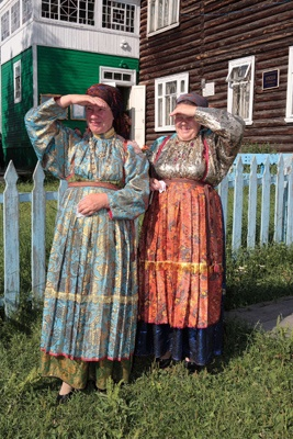 Women's costume of the Ust-Tsilma (Russia, Komi Republic, in the past Arkhangelsk province)