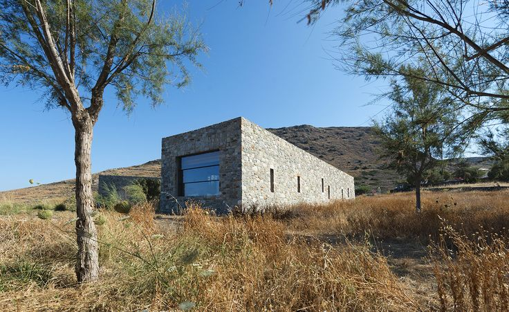 Divine simplicity: stone-clad Syros Island house is