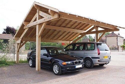 les 25 meilleures id es de la cat gorie carport 2 voitures sur pinterest auvent abri voiture. Black Bedroom Furniture Sets. Home Design Ideas