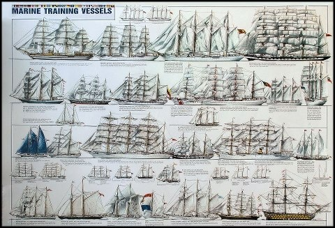 Tall ships |  ⛵ ✔ Sklep.marynistyka.org - przedmioty marynistyczne, żeglarskie, związane z morzem prezenty i dekoracje – modele jachtów i żaglowców, mosiężne kompasy i busole, dawne hełmy nurków i telegrafy maszynowe, historyczne sekstanty, żeglarskie dzwony pokładowe, lampy okrętowe, koła sterowe, lunety, zegary słoneczne....