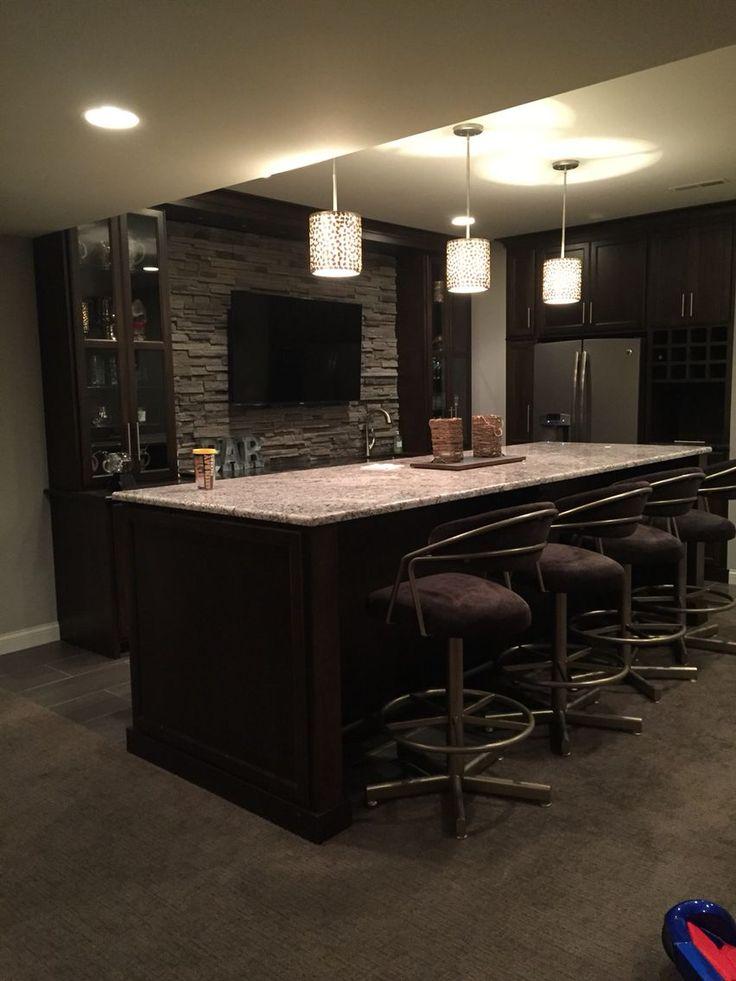 best 25 small basement bars ideas on pinterest man cave. Black Bedroom Furniture Sets. Home Design Ideas