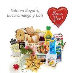 Desayunos Sorpresa para Mamá en Bogotá, Desayuno para el dia de la madre en Colombia