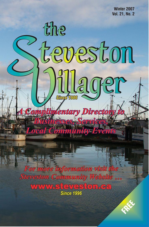 The Steveston Village Community Website