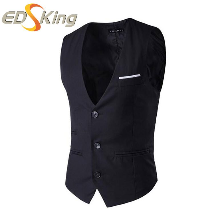 ==> [Free Shipping] Buy Best EDSking Sleeveless Waistcoat Vests Male Man winter Jacket Online with LOWEST Price | 32646402628