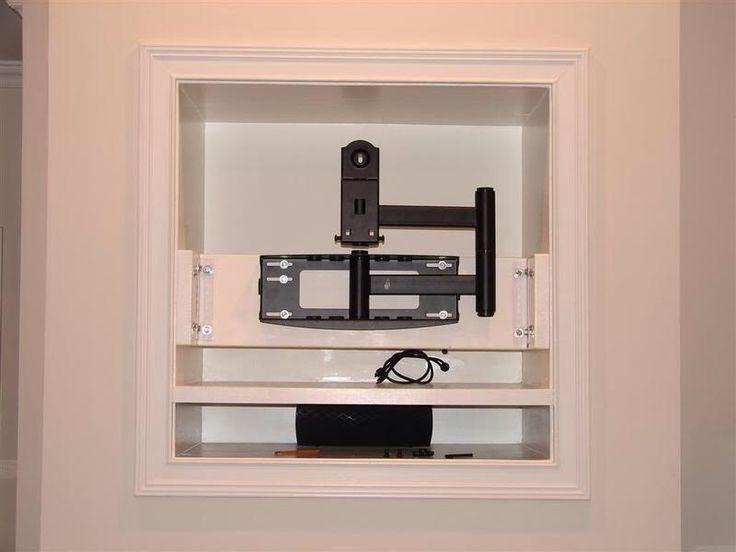 tv mount in the hole in the wall let 39 s do this pinterest tvs the o 39 jays and the wall. Black Bedroom Furniture Sets. Home Design Ideas