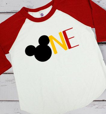 Baby's First Birthday / Mickey Mouse Birthday by KDBVinylCreations