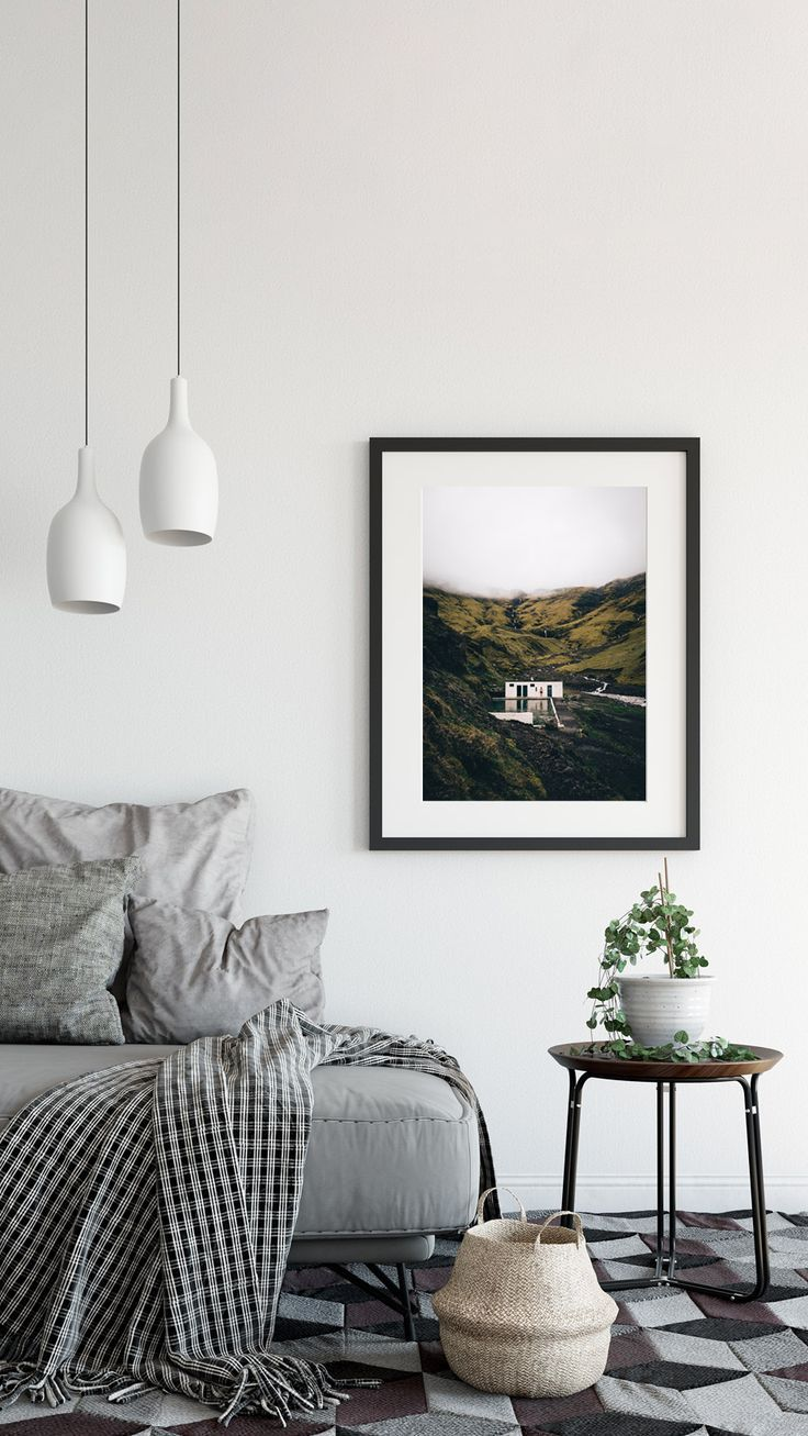 Iceland Print Nature Photography Prints Scandinavian Art Etsy Home Scandinavian Art Home Decor