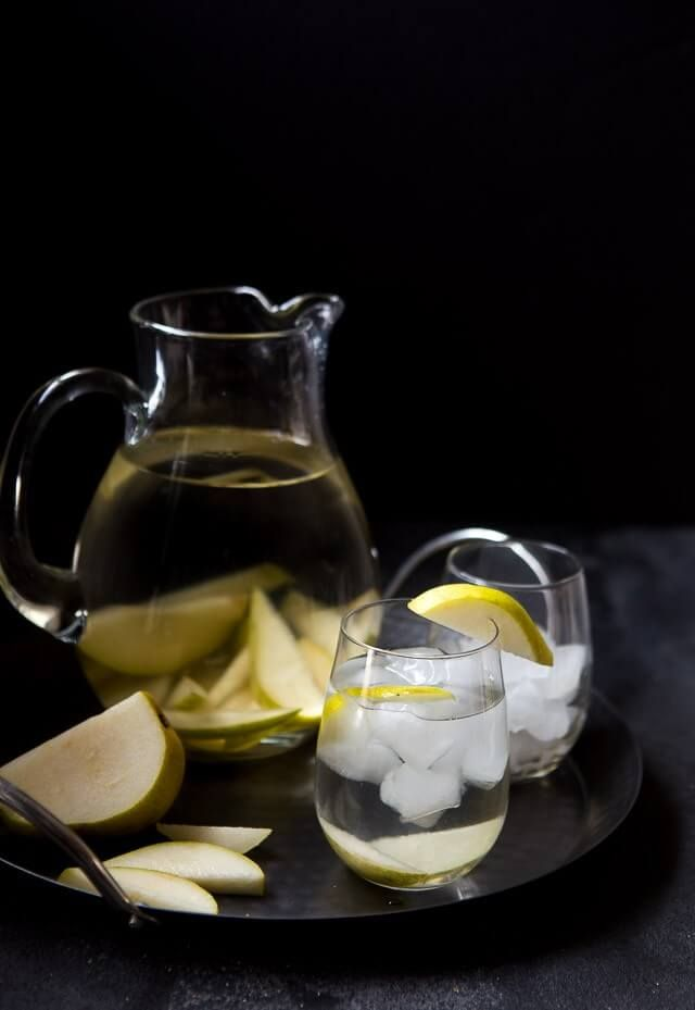 Vanilla Pear Infused Water