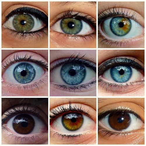 This typology uses photos of different eyes. this is interesting as you can see…