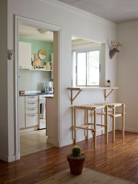 Casa Chaucha » Aire y luz    La misma distribución que mi casita! el piso me encanta y el despoje, con un bebe tengo todo abarrotado...