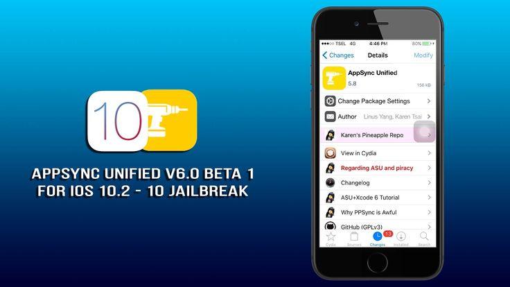 AppSync iOS 10.2 ~ AppSync V6.0 Beta 1 For iOS 10.2/10 Jailbreak Is Avai...