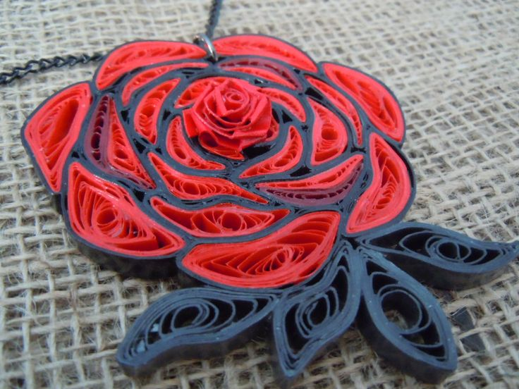 RWBY Like Quilled Rose