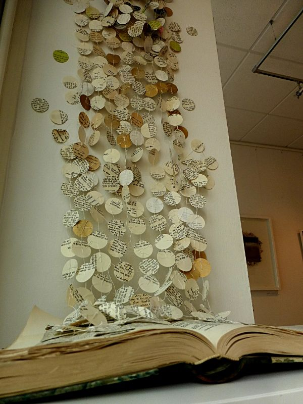 the story goes on. book installation. Ines Seidel                                                                                                                                                      More