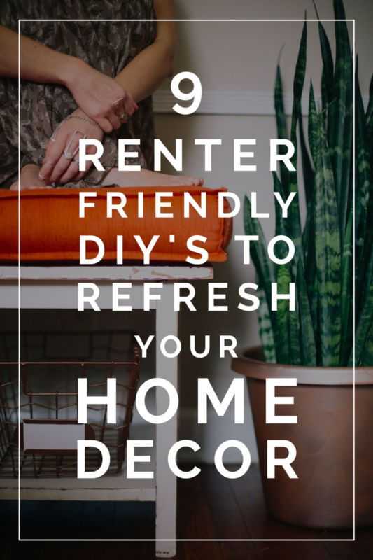 Being a renter myself the constant challenge to decorate your home is one I know well. Temporary furniture, textures walls and ugly carpets are just some of the hardships we have to overcome to create...