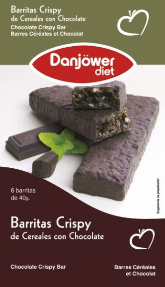 Barritas Crispy de Cereales con Chocolate