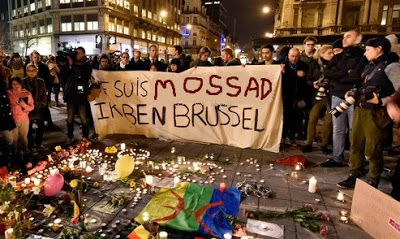Did the MOSSAD just reveal the true reason for the staged false flag terror attacks in Brussels? - An Israeli minister has said that a recent European Union law regarding the labelling of goods produced in Israeli settlements illegally built in the occupied Palestinian West Bank was a factor behind Tuesday's bombing in the Belgium capital.
