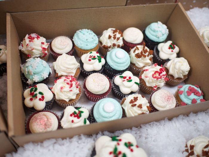 Christmas Cupcakes By Crumbs Doilies Available Now London