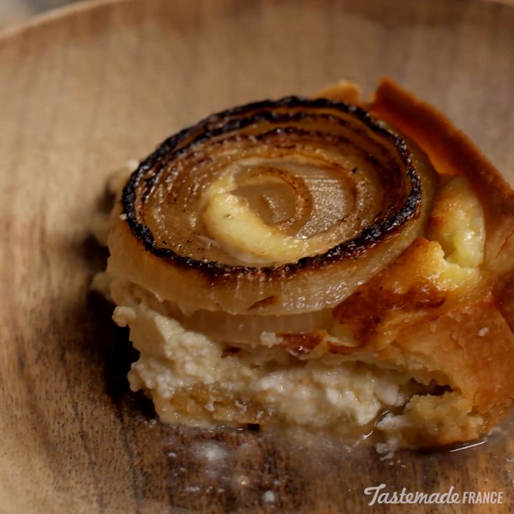 Caramelized onions baked into a creamy tart are the stuff of savory ...