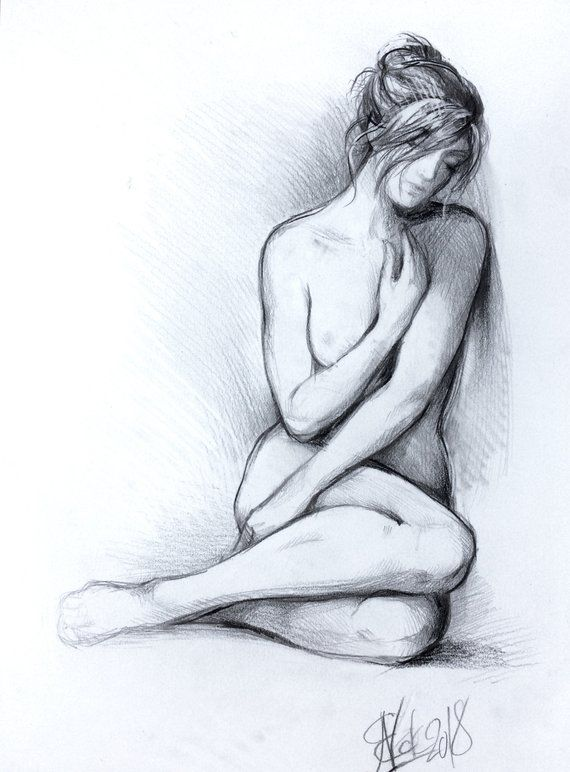 Pin Auf Nude Drawings
