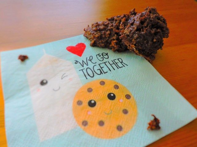 Cocoa Quickies - super fast and easy no bake cookies!