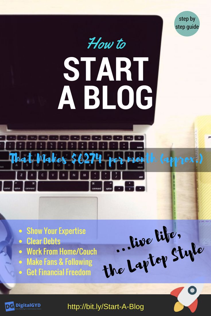 127 best blogging for newbies images on pinterest blogging beginners guide to start a blog that makes 6274 per month fandeluxe Choice Image