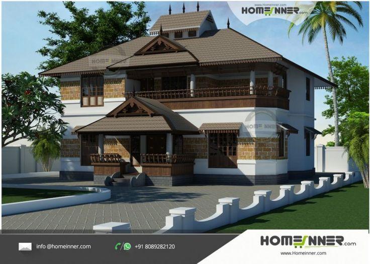 2495 Sqft 5 Bhk Kerala Illam Model Traditional House