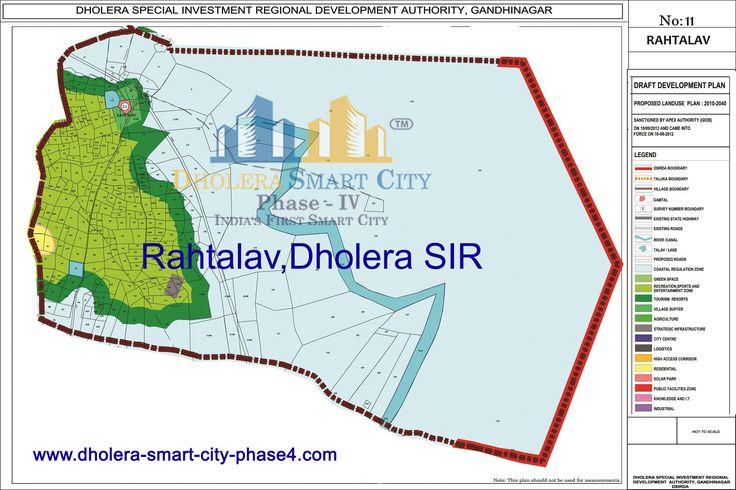 Map of RAHTALAV, DholeraSIR #Dholera #DholeraSIR #DholeraSmartCity #Gujarat