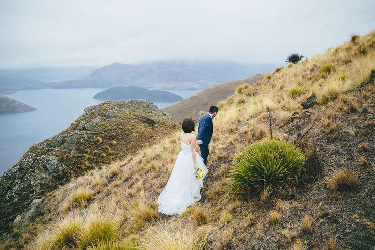 Stevenson's Arm Heli-Wedding, Wanaka, New Zealand Wedding organised by www.theweddingcompany.co.nz Wedding photographed by www.wanakaphotography.co.nz