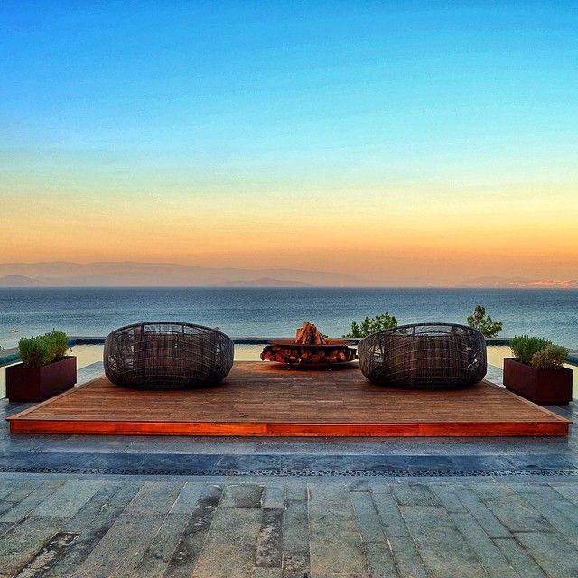 The definition of serenity: Mandarin Oriental Bodrum. Photo courtesy of ahubozkurt1 on Instagram.