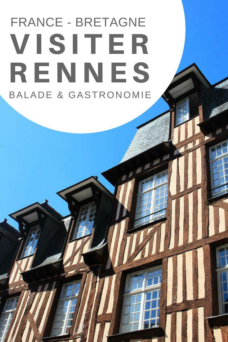 Journée gourmande à Rennes à la rencontre des produits locaux et artisanaux. Bretagne, France