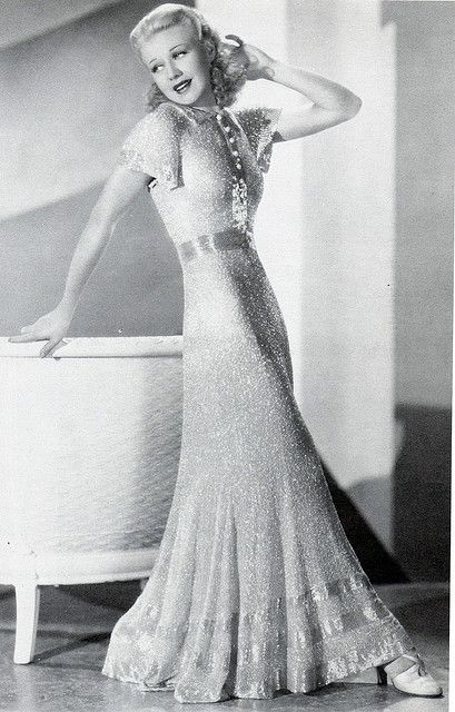 Ginger Rogers - the epitome of grace coupled with energy. Often rated beneath Fred Astaire simply for being a woman. She was a gorgeous dancer and a tough broad!
