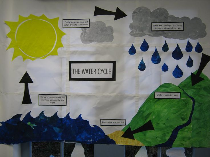 10 best images about Water Cycle Poster Project Ideas on Pinterest ...