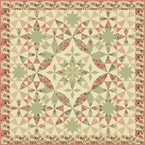 Alaska Block Of The Month By Edyta Sitar Of Laundry Basket Quilts