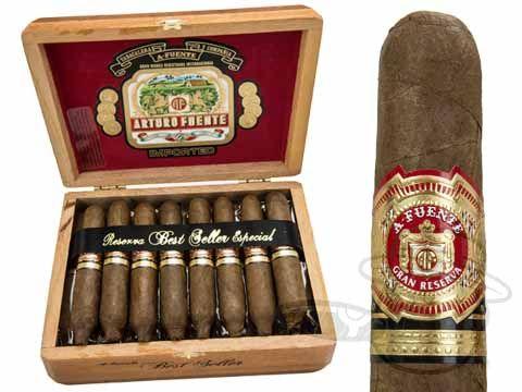 Arturo Fuente Hemingway Best Seller 4 1/2 x 55—Box of 25 - Best Cigar Prices